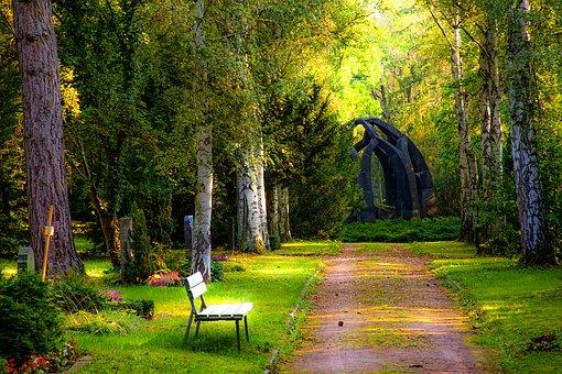 Cimetière jardin