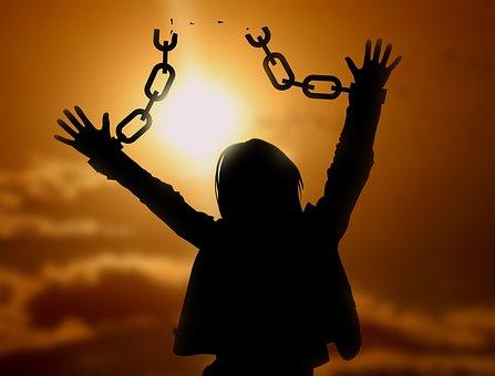 Liberté, chaines brisées