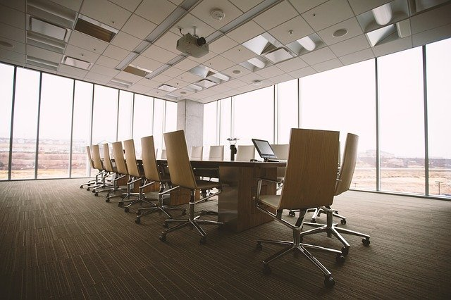 salle de conférence entreprise