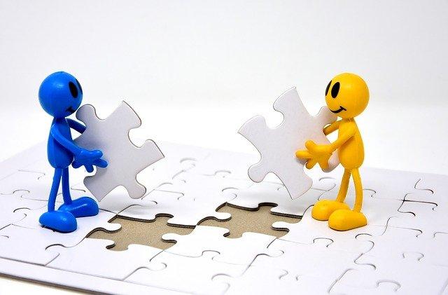 Pieces puzzle, équipe
